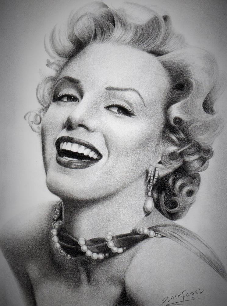 Marilyn Monroe by Stormfogel